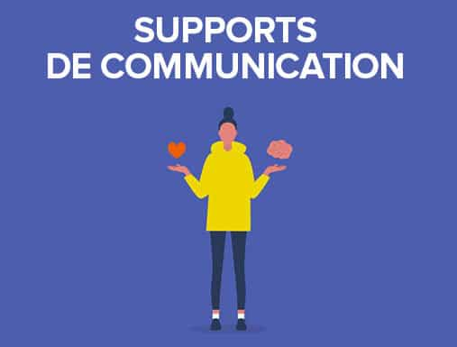 Support de communication