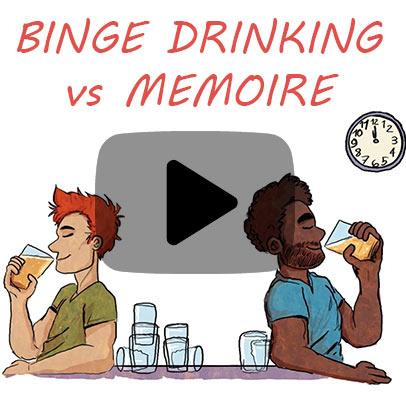 Binge drinking et mémoire