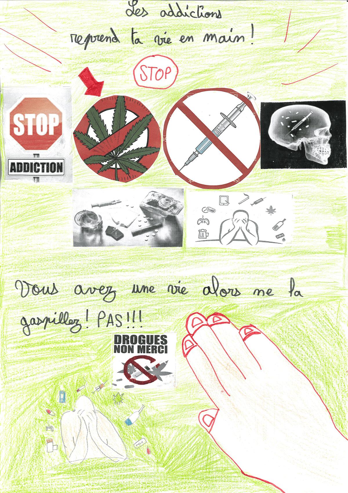 Affiche Addiction