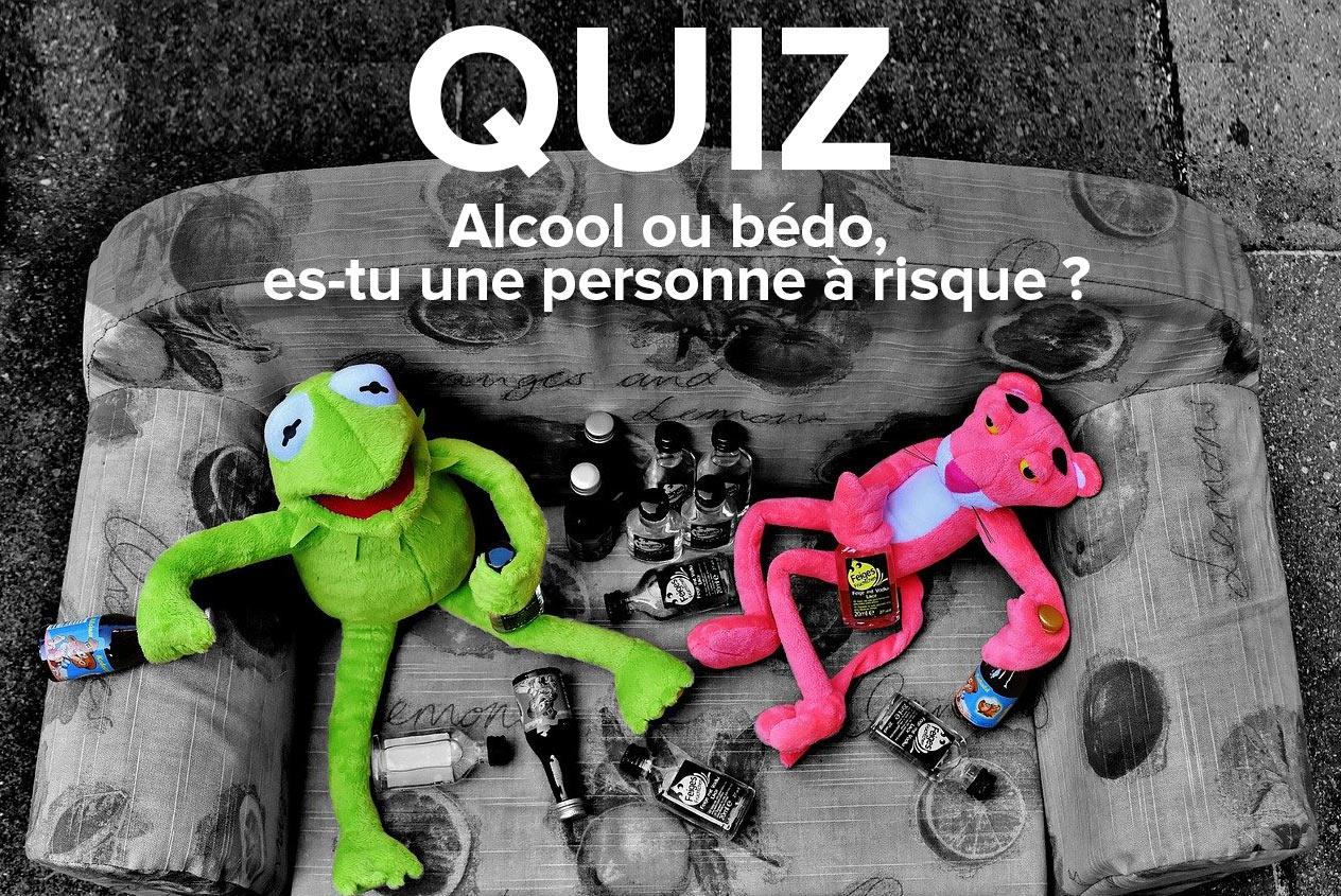 Quiz Alcool ou bédo
