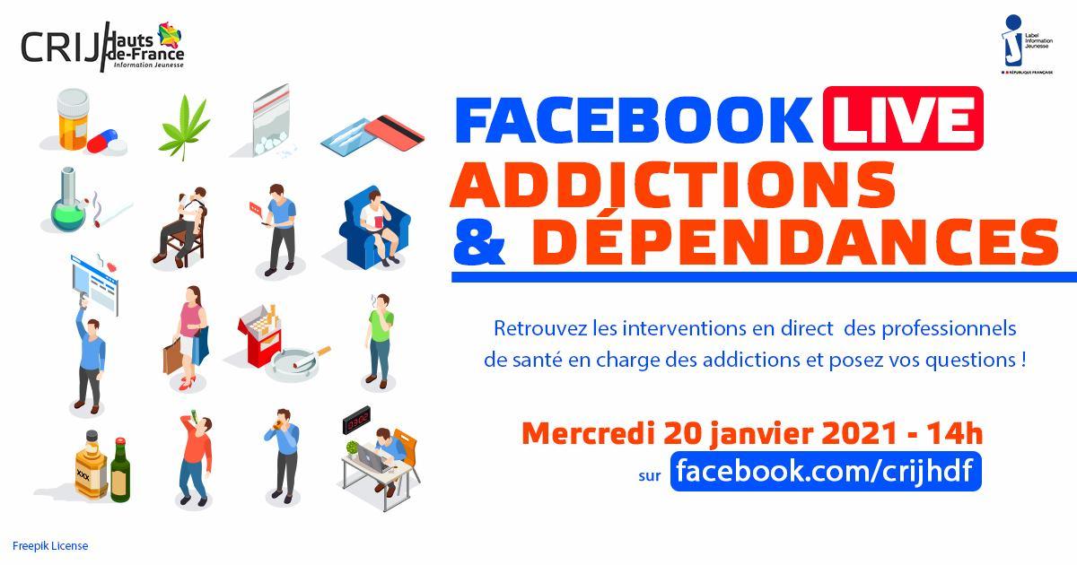 Facebook Live Addictions et Dépendances