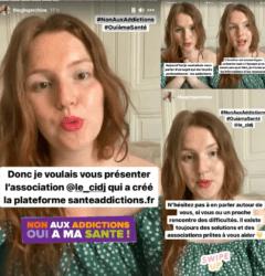 Chloé partage son expérience sur l'addiction au cannabis
